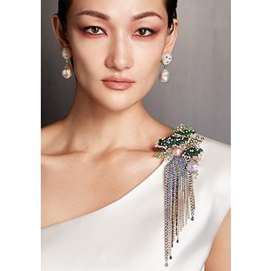 新作ハイジュエリーコレクション「The Japanese Sense of Beauty 日本の美しい色とかたち」発表