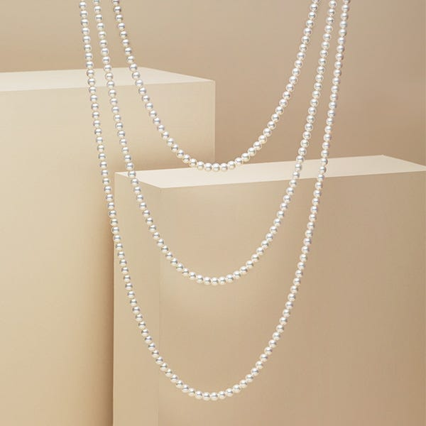 "The most luminous of all, ""Mikimoto Pearl"""